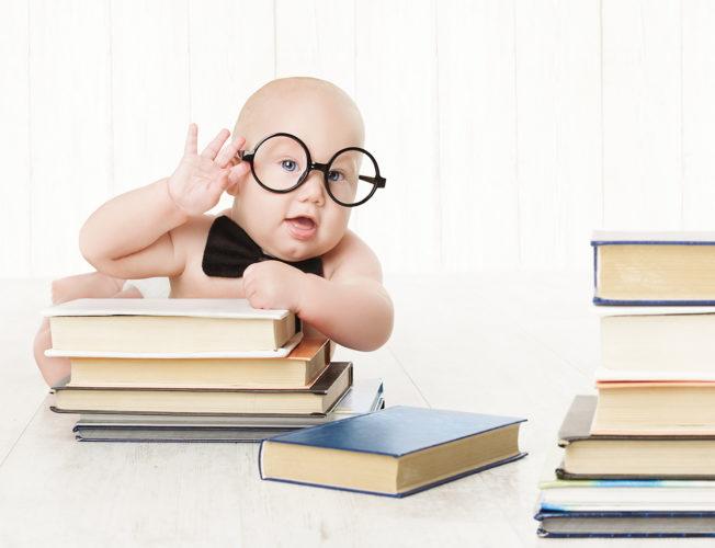 czytanie z niemowlakiem