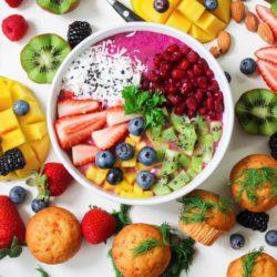 w diecie pudełkowej najczęściej wykorzystuje się świeże owoce i warzywa