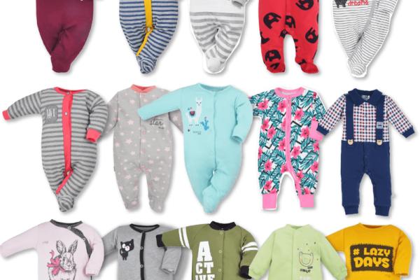 Czym różni się pajac niemowlęcy od śpiochów? I które ubranko lepiej się sprawdza?
