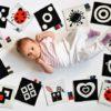 Jakie zabawki kontrastowe wybrać dla niemowlęcia?